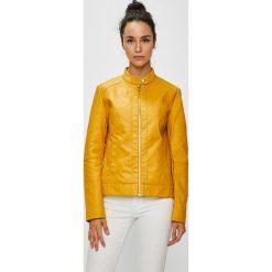 Jacqueline de Yong - Kurtka. Pomarańczowe kurtki damskie marki Jacqueline de Yong, z bawełny. Za 129,90 zł.