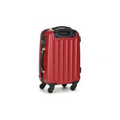 Walizki twarde David Jones  CHAUVETTA 36L. Czerwone torebki klasyczne damskie marki David Jones. Za 179,10 zł.