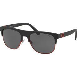 Polo Ralph Lauren - Okulary 0PH4132. Brązowe okulary przeciwsłoneczne męskie lustrzane marki Polo Ralph Lauren, z materiału. Za 499,90 zł.