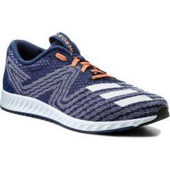 Buty adidas - Aerobounce Pr W CG4647 Aerblu/Aerblu/Nobind. Czarne buty do biegania damskie marki Adidas, z kauczuku. W wyprzedaży za 269,00 zł.