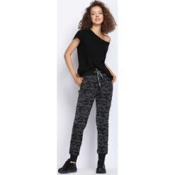 Spodnie dresowe damskie: Ciemnoszare Spodnie Dresowe Be Alright