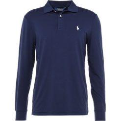 Polo Ralph Lauren Golf LONG SLEEVE KNIT Koszulka sportowa french navy. Niebieskie koszulki do golfa męskie Polo Ralph Lauren Golf, m, z elastanu, z długim rękawem. Za 479,00 zł.