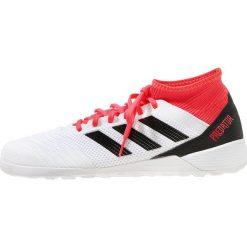 Adidas Performance PREDATOR TANGO 18.3 IN Halówki white/black/reacor. Białe buty sportowe męskie adidas Performance, z materiału. Za 379,00 zł.
