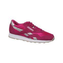 Buty sportowe damskie: Reebok Buty damskie Classic Nylon różowe r. 34.5 (BD1287)