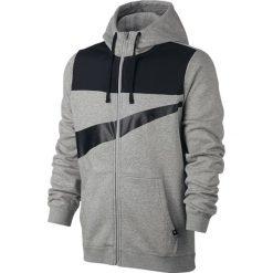 Bluza Nike NSW Hoodie Fleece zip Hybrid (861712-063). Szare bluzy męskie marki Nike, m, z bawełny. Za 139,99 zł.