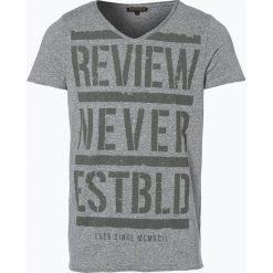 Review - T-shirt męski, zielony. Zielone t-shirty męskie z nadrukiem marki QUECHUA, m, z elastanu. Za 39,95 zł.