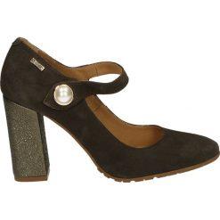 Czółenka - 2716 TAUP-FUC. Brązowe buty ślubne damskie Venezia, ze skóry. Za 199,00 zł.
