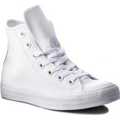 Buty męskie: Trampki CONVERSE - Ct A/S Lthr Hi 1T406  White Monochrome