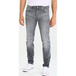 GStar 3301 SLIM Jeansy Slim Fit lavas grey stretch denim. Szare jeansy męskie G-Star. Za 659,00 zł.