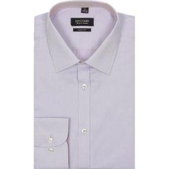 Koszule męskie na spinki: koszula bexley 1953 długi rękaw slim fit wrzosowy