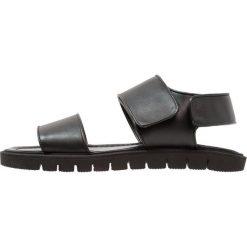 Sandały męskie skórzane: Antony Morato Sandały black
