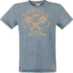 T-shirty męskie z nadrukiem: GoodYear Meaford T-Shirt niebieski