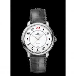 ZEGAREK OMEGA De Ville Prestige 424.53.40.20.04.002. Białe zegarki męskie OMEGA, szklane. Za 49200,00 zł.