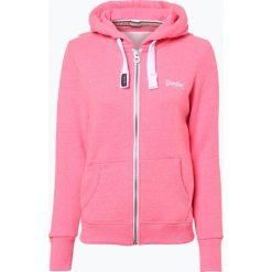 Bluzy damskie: Superdry - Damska bluza rozpinana, różowy