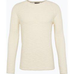 Swetry klasyczne męskie: Review - Sweter męski, beżowy