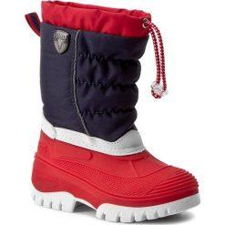 Buty zimowe chłopięce: Śniegowce CMP – Kids Hanki 3Q48064K Nautico N997