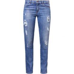 BOSS Orange Jeansy Slim Fit medium blue. Niebieskie jeansy damskie BOSS Orange. W wyprzedaży za 639,20 zł.