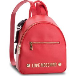 Plecak LOVE MOSCHINO - JC4307PP06KU0500 Rosso. Czerwone plecaki damskie marki Love Moschino, ze skóry ekologicznej, eleganckie. Za 839,00 zł.