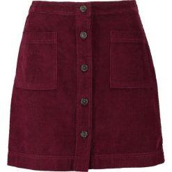 Spódniczki: GAP BUTTON FRONT Spódnica trapezowa red