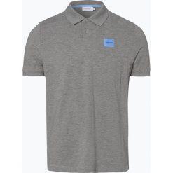 Calvin Klein - Męska koszulka polo, szary. Szare koszulki polo Calvin Klein, m, z aplikacjami. Za 249,95 zł.