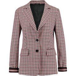 Sisley CHECK ONE BUTTON  Krótki płaszcz red. Czerwone płaszcze damskie Sisley, z elastanu. Za 679,00 zł.