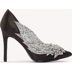 Czółenka: NA-KD Shoes Czółenka zdobione strassem - Black