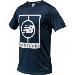 Koszulka treningowa MT833017GXY. Szare koszulki sportowe męskie New Balance, m, z materiału. Za 129,99 zł.