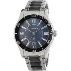 Zegarek kwarcowy w kolorze srebrno-granatowym. Niebieskie, analogowe zegarki damskie Esprit Watches, ceramiczne. W wyprzedaży za 272,95 zł.