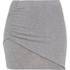 Iro DEEP Spódnica mini mixed grey. Szare minispódniczki Iro, m, z elastanu. Za 479,00 zł.