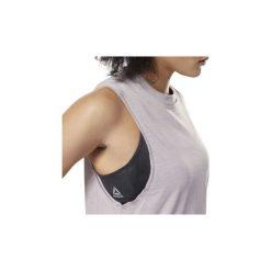 Topy na ramiączkach / T-shirty bez rękawów Reebok Sport  Top Training Essentials Marble. Fioletowe topy sportowe damskie Reebok Sport, l, bez rękawów. Za 99,95 zł.
