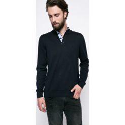 Kensington - Sweter. Czarne golfy męskie Kensington, l, z bawełny, z golfem. W wyprzedaży za 39,90 zł.