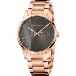 ZEGAREK CALVIN KLEIN CITY K2G2G643. Brązowe zegarki męskie marki Calvin Klein, szklane. Za 1329,00 zł.