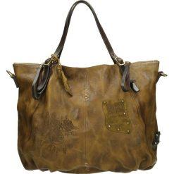Torba - 200363 SENA. Czarne torebki klasyczne damskie marki Venezia, ze skóry. Za 1299,00 zł.