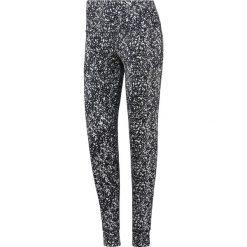 Spodnie damskie: Reebok Spodnie damskie Lux Bold High Rise czarno-białe r. S (BQ8179)