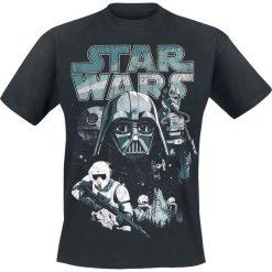 T-shirty męskie z nadrukiem: Star Wars Episode 6 – Die Rückkehr der Jedi Ritter – Dark Side Characters T-Shirt czarny