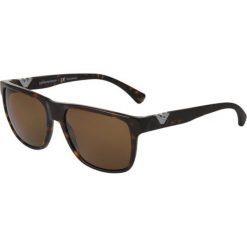 Emporio Armani Okulary przeciwsłoneczne brown. Brązowe okulary przeciwsłoneczne damskie marki Emporio Armani. Za 609,00 zł.