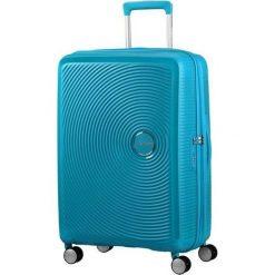 Walizka AT 32G01002 SOUNDBOX-67/24 TSA EXP ,4 koła, błękitna (32G-01-002). Niebieskie walizki marki Samsonite. Za 509,49 zł.