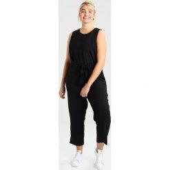 Kombinezony damskie: Glamorous Curve TIE WAIST CROPPED Kombinezon black