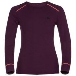 Odlo Koszulka tech. Odlo Shirt l/s crew neck WARM - 152021 - 152021/30305/L. Brązowe bralety marki Odlo, l. Za 169,95 zł.