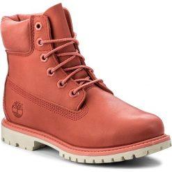 Trapery TIMBERLAND - 6In Premium Boot W A1AQK Spiced Coral. Czerwone buty zimowe damskie Timberland, z gumy. W wyprzedaży za 499,00 zł.