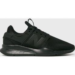 New Balance - Buty MS247EK. Czarne halówki męskie marki New Balance. Za 399,90 zł.