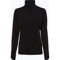 T-shirty damskie: Esprit Casual - Damska koszulka z długim rękawem, czarny
