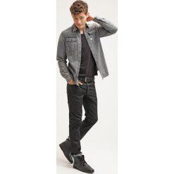 GStar 3301 STRAIGHT Jeansy Straight Leg black pintt stretch denim. Czarne jeansy męskie regular G-Star. Za 469,00 zł.