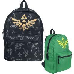 Plecaki męskie: The Legend Of Zelda Zelda Wenderucksack Plecak czarny/zielony