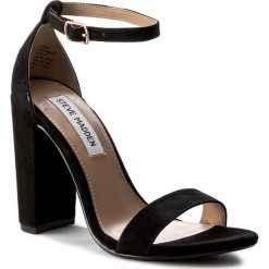Sandały damskie: Sandały STEVE MADDEN – Carrson Sandal 91000008-0W0-10003-01001 Black