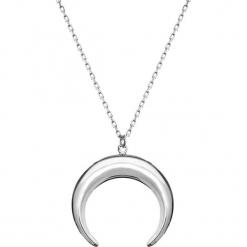 Srebrny naszyjnik z zawieszką - (D)42 cm. Szare naszyjniki damskie Ania Kruk, srebrne. W wyprzedaży za 79,95 zł.
