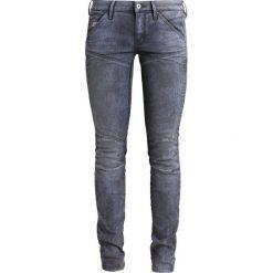 GStar 5620 MID SKINNY  Jeans Skinny Fit loomer grey stretch denim. Szare boyfriendy damskie G-Star. W wyprzedaży za 511,20 zł.