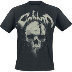 T-shirty męskie z nadrukiem: Caliban Gravity Skull T-Shirt czarny