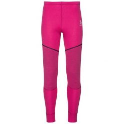 Odlo Spodnie dziecięce Pants X-WARM KIDS różowe r. 140 (155179/31600). Czarne spodnie chłopięce marki Odlo. Za 149,95 zł.