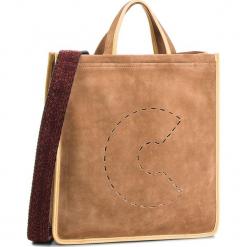 Torebka COCCINELLE - CJ1 Bag Suede E1 CJ1 18 01 01  Cuir/Spark 796. Brązowe torebki klasyczne damskie marki Coccinelle, ze skóry. W wyprzedaży za 1079,00 zł.